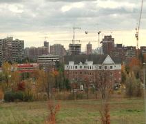 Modern City landscape Stock Footage