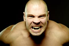 Stock Photo of Fury and anger