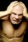 Fury and anger - stock photo