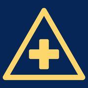 Health Warning Icon Stock Illustration
