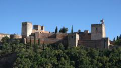 Alhambra Zoom1 Stock Footage