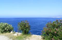 Stock Photo of The Mediterranean coast of Turkey in summer
