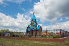 Russian orthodoxy church Stock Photos