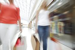 Fast shopping - stock photo