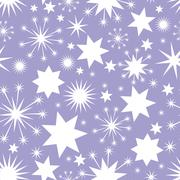 Stock Illustration of Elegant Christmas seamless background with stars
