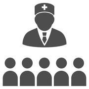 Medical Class Icon Stock Illustration