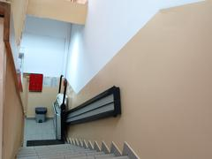 Handicap elevator, lift for invalid wheelchair Stock Photos