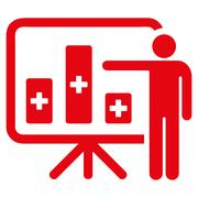Medical Public Report Icon Piirros