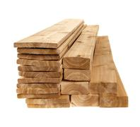 Lumber planks and boards Stock Photos