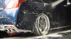 Car wash Stock Footage
