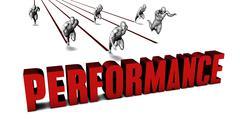 Better Performance - stock illustration