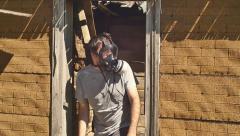 post apocalyptic warzone apocalypse - stock footage