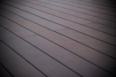 Old wood floor - stock photo