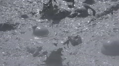Mud Pots Stock Footage