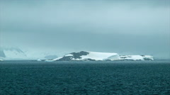 Desolated Continent of Antarctica - stock footage