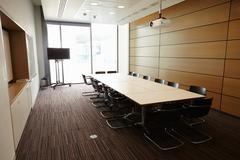 Business boardroom without people - stock photo