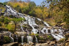Mae Ya Waterfall, Nam Tok Mae Ya Stock Photos