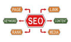 Stock Illustration of Search Engine Optimization
