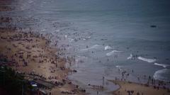 Vung Tau sea beach view Stock Footage