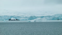 Endless Ice of Antarctica - stock footage