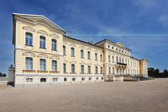 Stock Photo of baroque palace Rundale in Latvia