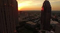 Aerial Georgia Atlanta Stock Footage