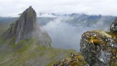 Northern Norway landscape. Lofoten islands Stock Footage