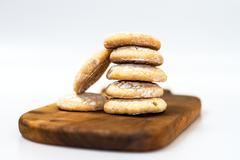Stock Photo of Cookies isolated