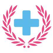 Medical Glory Icon - stock illustration