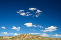 Arid landscape - stock photo