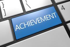 Achievement Stock Illustration