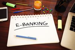 E-Banking Stock Illustration