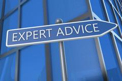 Expert Advice Stock Illustration