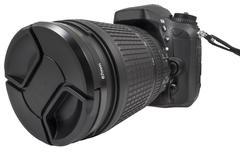 Digital single lens reflex camera Stock Photos