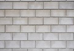 brick wall, square format - stock photo