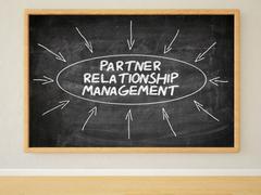 Partner Relationship Management Stock Illustration