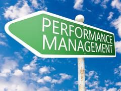 Performance Management - stock illustration