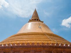 Phra Pathom Chedi - stock photo