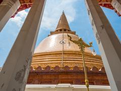 Phra Pathom Chedi Stock Photos
