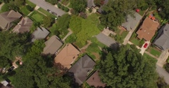 4K Aerial - Projects Housing flyover Stock Footage