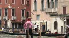 Canale grande in Venice in Italy Stock Footage