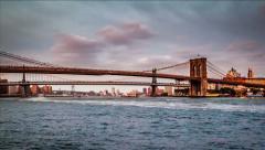 Three Bridges timelapse Stock Footage