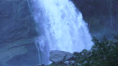 Waterfall krimml austria 06 Stock Footage