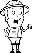 Stock Illustration of Explorer Drink