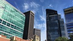 Pittsburgh Skyline Day Establishing Shot Stock Footage