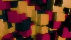 Stock Video Footage of retro glossy box