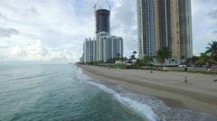 Aerial video Sunny Isles Beach 13 Stock Footage