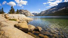 Tenaya Lake in Yosemite National Park Kuvituskuvat