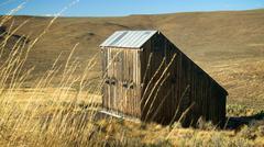 Weathered Barn in Eastern Oregon Stock Photos
