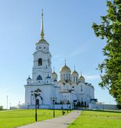 Assumption Cathedral, Vladimir, Russia Stock Photos